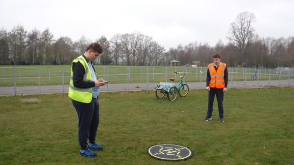 Lift-off for use of drones to support learning at Prior's Court